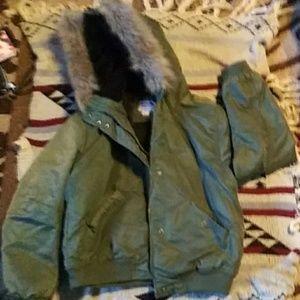 Mossimo crop coat
